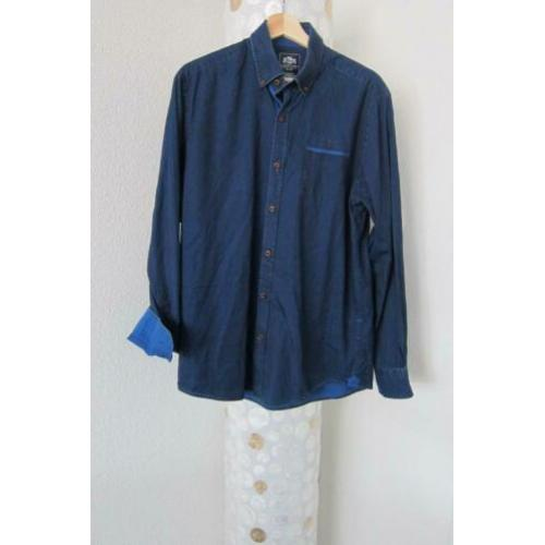 State of art blouse overhemd blauw used look regular L