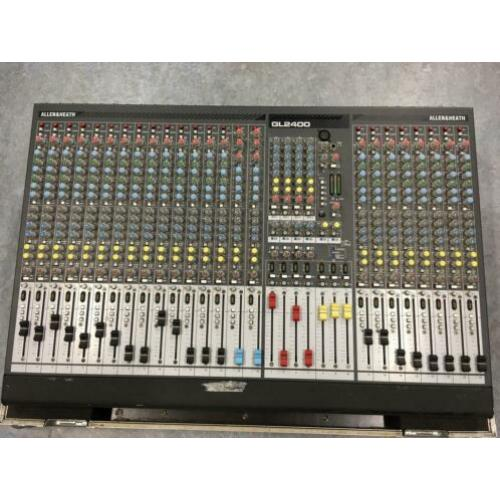 Allen & Heath GL2400-24 incl flightcase