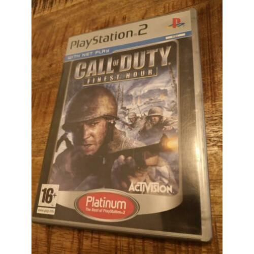 Call of duty finest hour Playstation 2 ps2