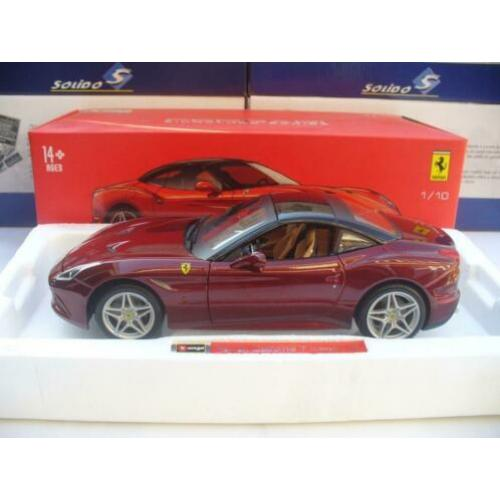 Bburago Signature 1/18 Ferrari California Coupe Donkerrood