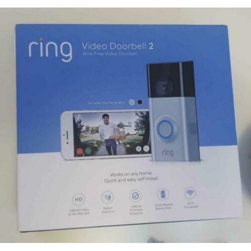 Ring video doorbelll 2