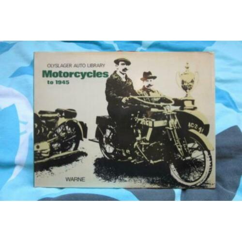 Motorcycles to 1945