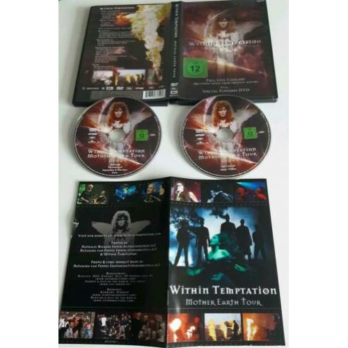 2 dvd Within Temptation Mother Earth Tour 5.1surround