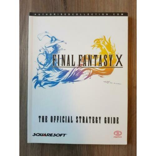 [OFFICIËLE] Final Fantasy VII, IX & X Strategy Guides