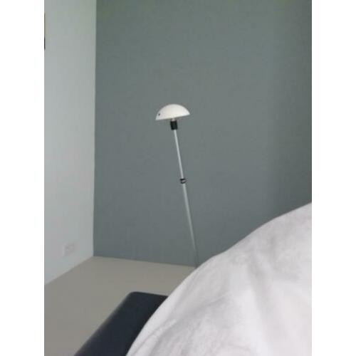 1 x Auping Auronde bedlamp zilver wit