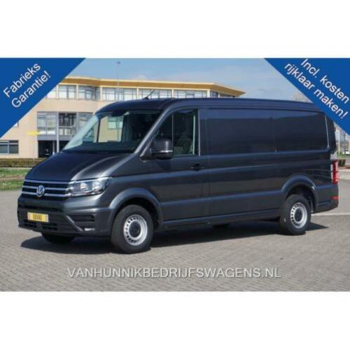Volkswagen Crafter 35 2.0 TDI L3H2 Automaat €436 / Maand Air
